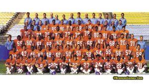 Denver Broncos Team History