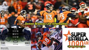 Denver Broncos Game Live 2017