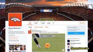 Denver Broncos Twitters Fans 2017