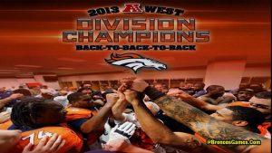 Denver Broncos AFC Championship