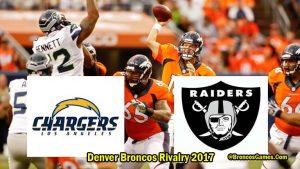 Denver Broncos Rivals