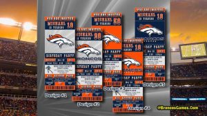 Denver Broncos Game Tickets