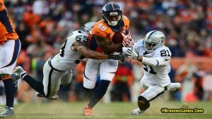 Oakland Raiders vs Denver Broncos Rivalry 2017