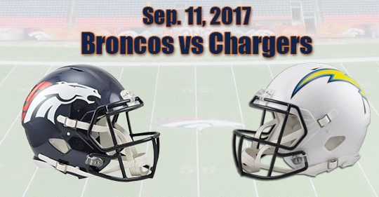 Reg Week 1: Broncos Chargers Monday Night Football
